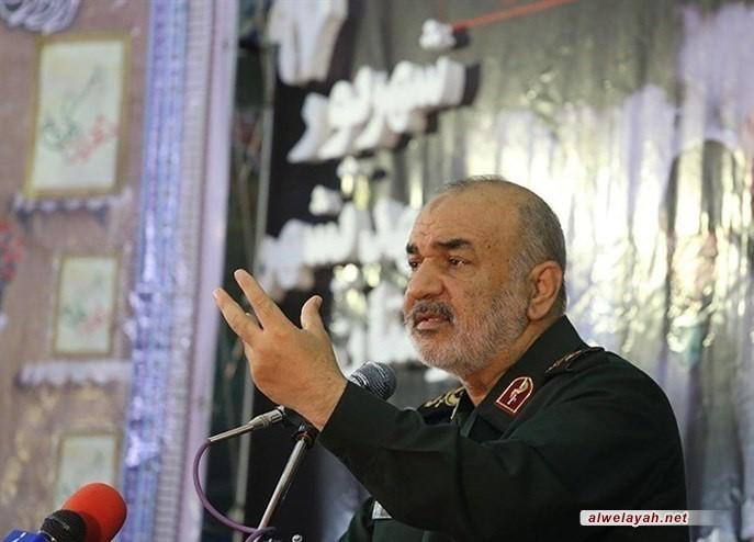 العميد سلامي: زمن سيطرة أمريكا على المنطقة قد ولى بفضل الثورة الإسلامية
