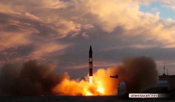 تزويد احدث وأقوى الصواريخ الباليستية الإيرانية برأس حربي موجه