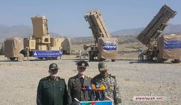 إزاحة الستار عن منظومة دفاع جوي إيرانية جديدة