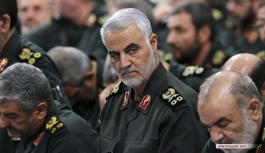 """صاروخ """"سليماني"""" الإعلامي في غزة!"""