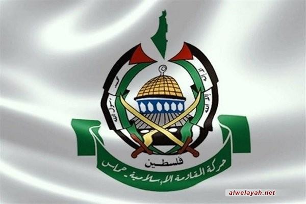 """حماس تشيد بـ""""مواقف إيران النبيلة"""" تجاه القضية الفلسطينية"""