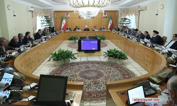 روحاني: توجيهات قائد الثورة الإسلامية خارطة لحركة الحكومة