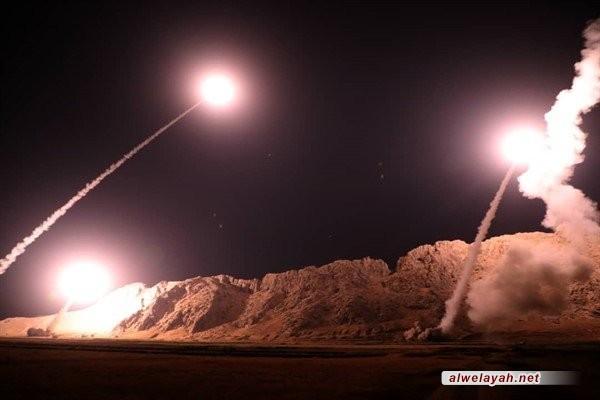 صواريخ الحرس الثوري تدك مقر الإرهابيين شرق الفرات انتقاماً للأهواز