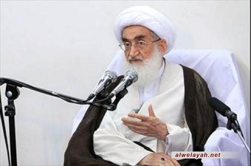 آية الله العظمى نوري الهمداني يشيد بجهود حزب الله لبنان وأمينه العام في مواجهة الاستكبار العالمي
