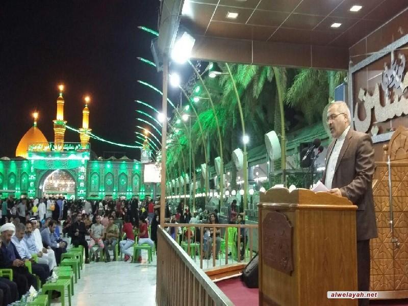 كربلاء المقدسة تستضيف مراسم ذكرى رحيل الإمام الخميني (ره)