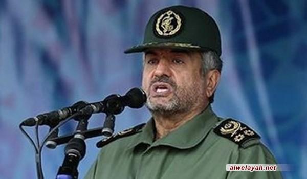قائد الحرس الثوري: سوريا ولبنان واليمن وفلسطين اختارت نهج المقاومة والنصر حليف شعوبها