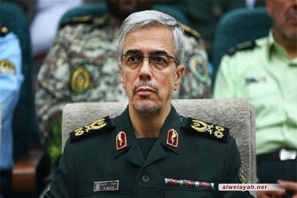 اللواء باقري: قوة الجمهورية الإسلامية الإيرانية تُلقي اليأس والخيبة في قلوب الأعداء