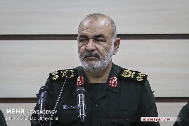 اللواء سلامي: إسقاط طائرة التجسس الأمريكية رسالة لأعداء إيران