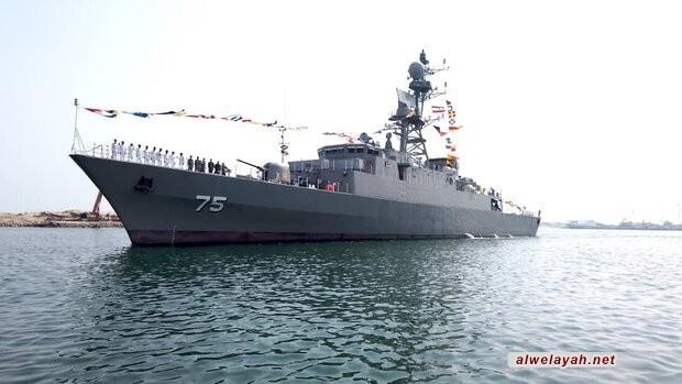 انضمام المدمرة 'دنا' وكاسحة الألغام 'شاهين' لأسطول البحرية الإيرانية