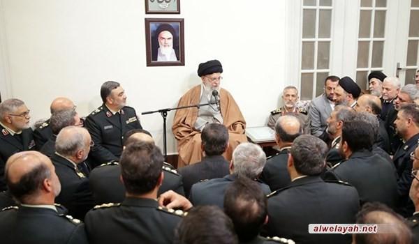 قائد الثورة الإسلامية يؤكد ضرورة الحفاظ على أمن الأجواء الافتراضية