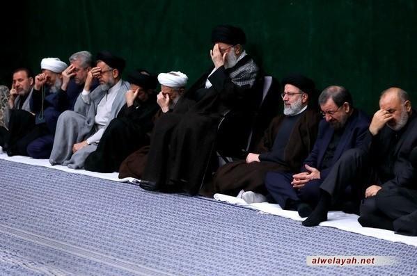 إقامة الليلة الأولى من مراسم العزاء الحسيني بحضور قائد الثورة الإسلامية