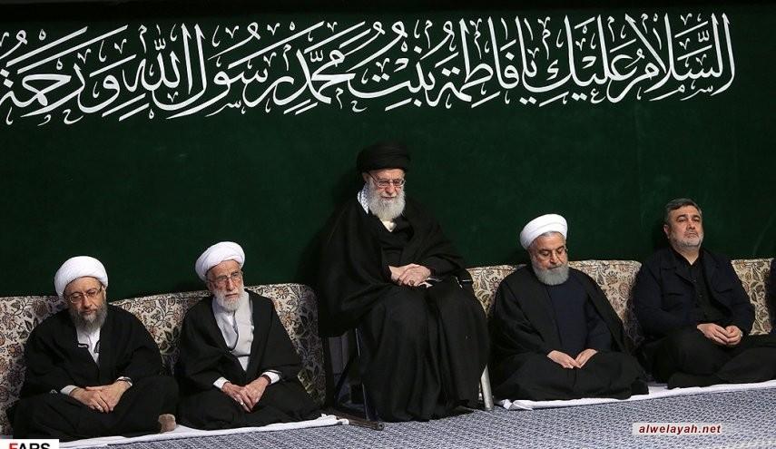 بمشاركة قائد الثورة الإسلامية.. إقامة مراسم عزاء استشهاد السيدة فاطمة الزهراء (ع)