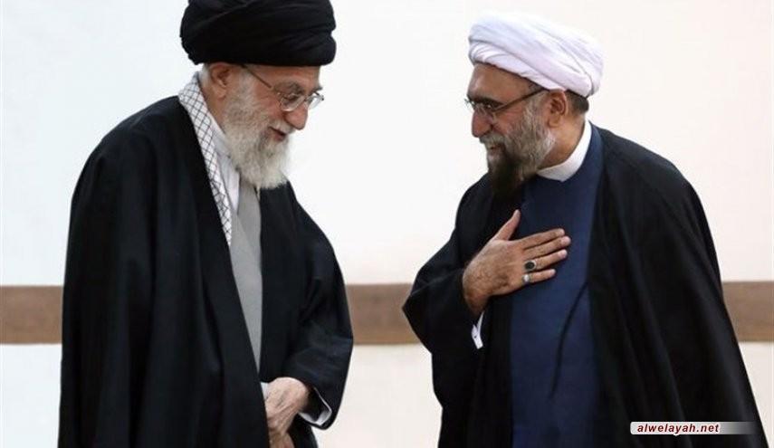قائد الثورة الإسلامية يعين حجة الإسلام أحمد مروي سادنا للعتبة الرضوية