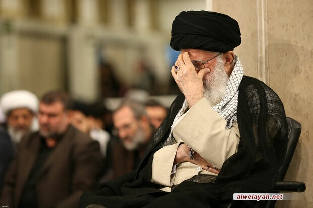 مراسم عزاء في ذكرى استشهاد الإمام علي (ع) بحضور قائد الثورة الإسلامية