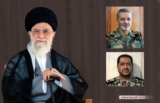 قائد الثورة يعين اللواء موسوي قائداً جديدا لمقر خاتم الانبياء للدفاع الجوي