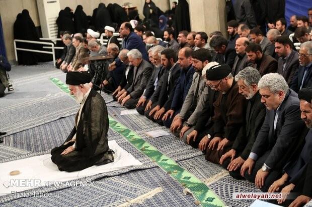 قائد الثورة الإسلامية سيؤمّ المصلين في صلاة عيد الفطر السعيد