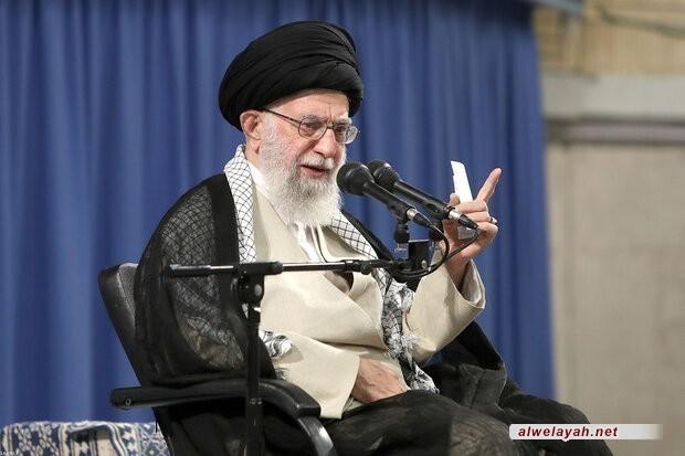 الإمام الخامنئي: سوف تنتصر إرادة الشعوب التي تنشد العدالة