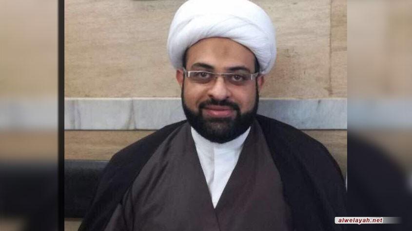 وفاة فضيلة الشيخ رضا عبد المحسن عبد الله الصغير