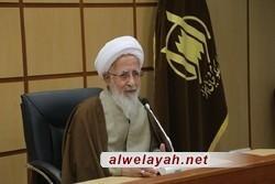 المرجع الديني جوادي الآملي: الجمهورية الإسلامية تملك كل مقومات النجاح