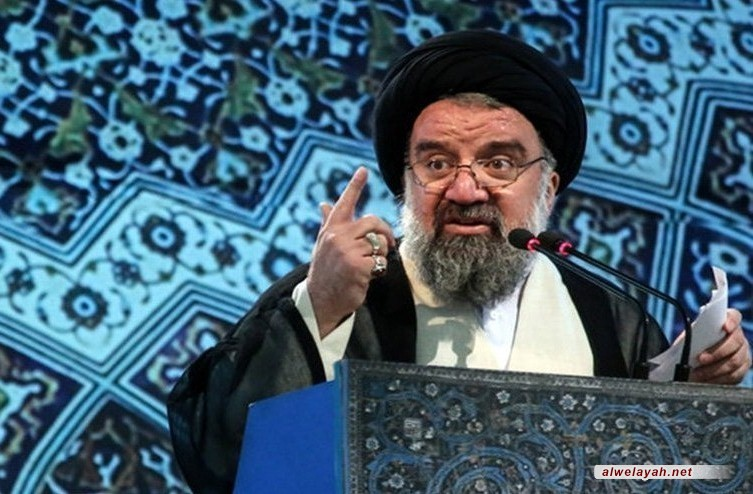 آية الله خاتمي: إجراء الرئيس الأميركي ضد الحرس الثوري عزز وحدتنا الوطنية