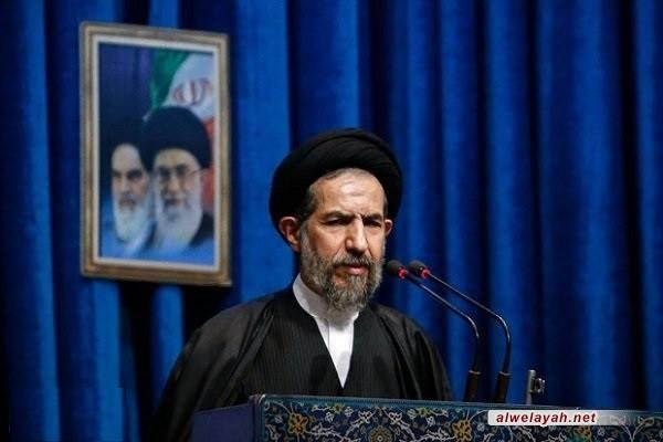 خطيب جمعة طهران: أهم انجاز للثورة الإسلامية التمهيد لسيادة الشعوب في المنطقة