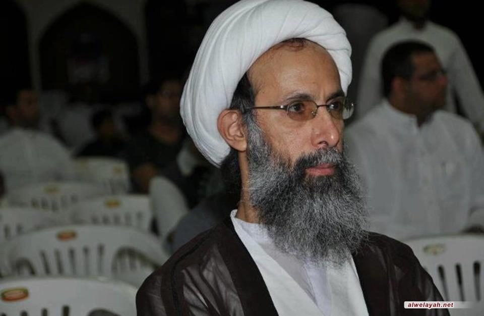 ماذا قال الشيخ النمر لوالدته بعد سماع تصديق حكم إعدامه؟