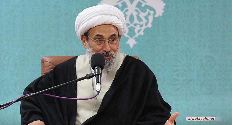 حجة الإسلام محمد حسن رحيميان: التبعية من ولاية الفقيه وخدمة الدين هو الطريق ليصبح الإنسان من جنود المهدي
