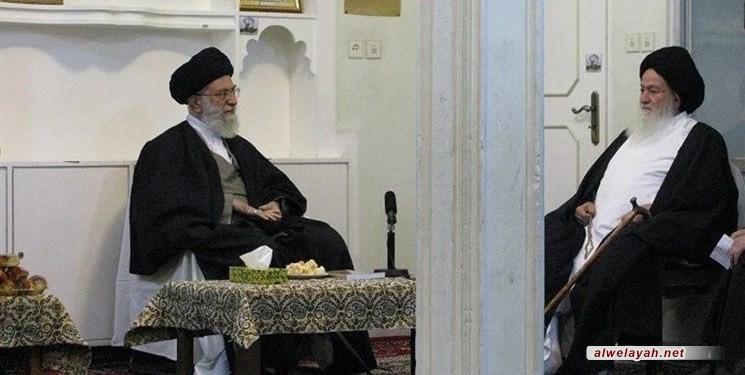 الإمام الخامنئي يعزي بوفاة آية الله السيد محمد الحسيني الشاهرودي