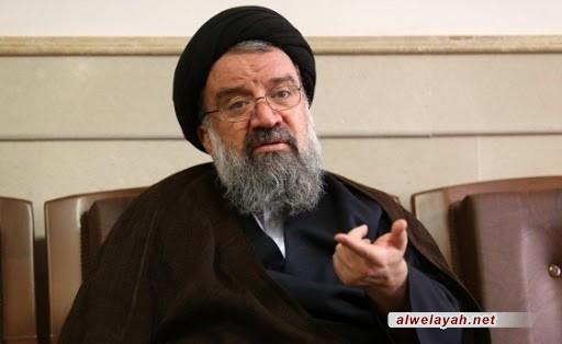 آية الله خاتمي: أعضاء مجلس الخبراء سيجتمعون مع قائد الثورة الإسلامية