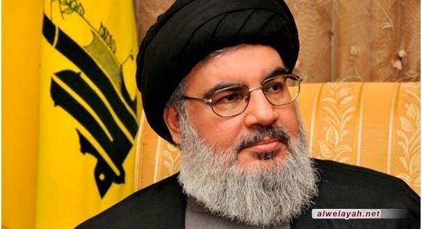السيد حسن نصر الله: الأربعين الحسيني بكربلاء تظاهرة إنسانية أخلاقية منقطعة النظير