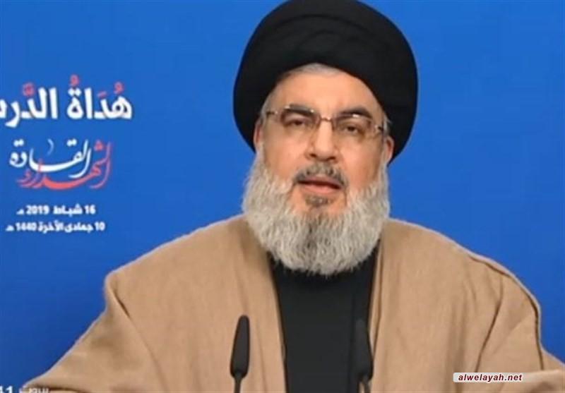 السيد نصر الله : المقاومة اليوم في خط تصاعدي ولا يمكن للأعداء إلحاق الهزيمة بها