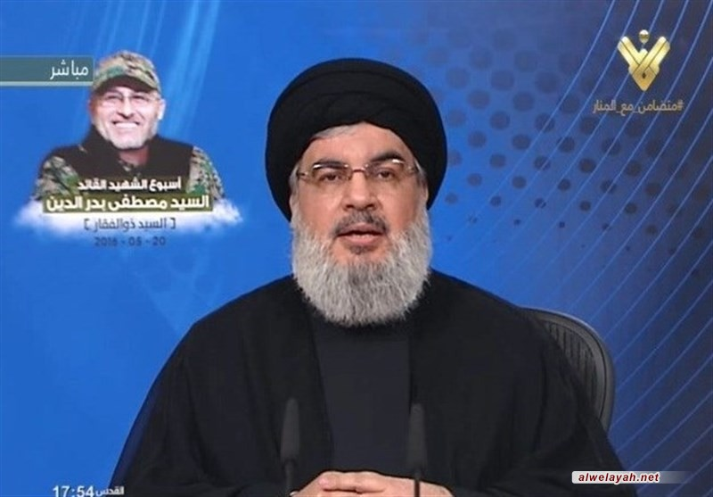 السيد نصر الله : الألوية الإسرائيلية التي ستفكر بدخول لبنان ستدمر بالكامل أمام العالم