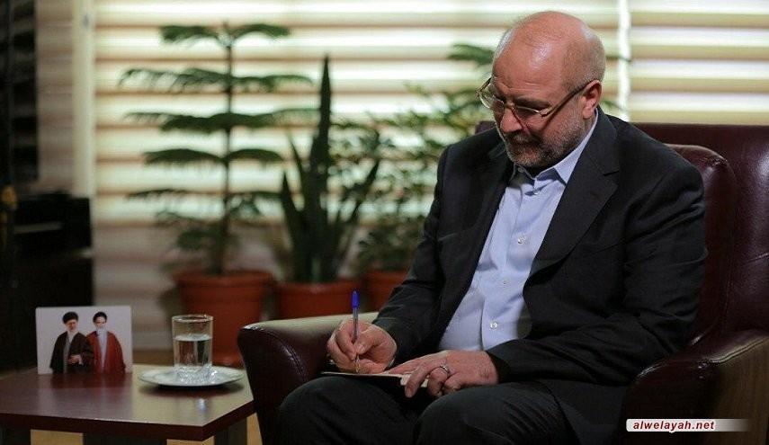 قاليباف يعزي قائد الثورة الإسلامية بوفاة شقيق عقيلته