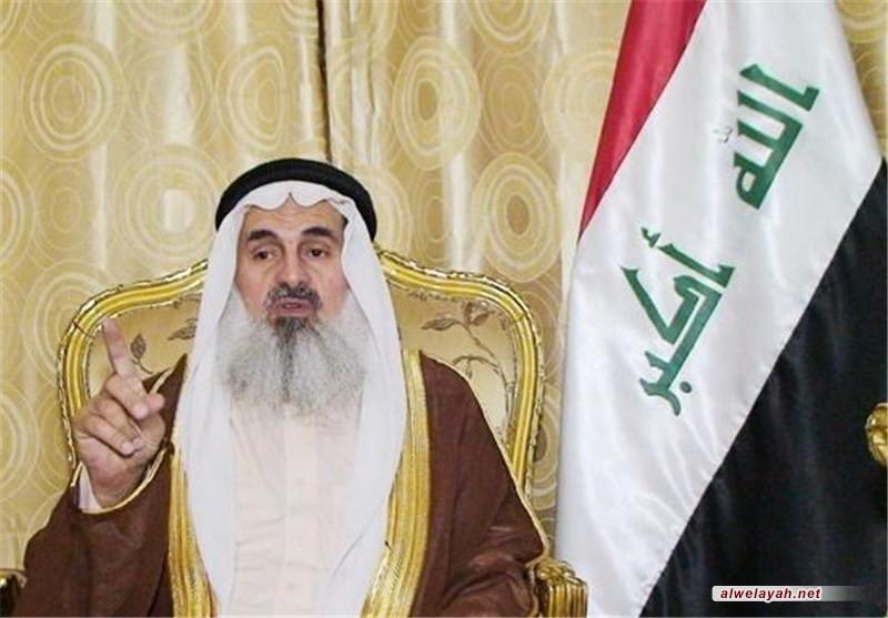مفتي أهل السنة في العراق: مكانة الثورة الإسلامية اليوم كبيرة في العالمين العربي والإسلامي