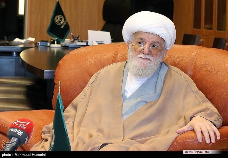 آية الله التسخيري: الإمام أحيا الأمل بمستقبل الحكومة الإسلامية بنفوس العالمين