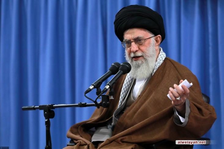 الإمام الخامنئي: الجهاد ضد الكيان الصهيوني واجب وضروري