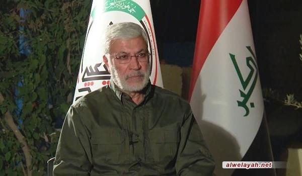 المهندس يشيد باللواء قاسم سليماني في الانتصار على داعش