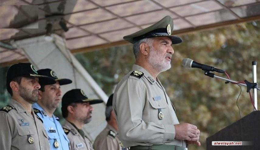 مساعد قائد الجيش الإيراني: الثورة الإسلامية أحبطت جميع المؤامرات لحد الآن