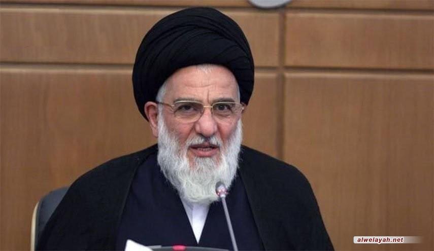 آية الله الشاهرودي: الثورة الإسلامية أربكت الأنظمة المتغطرسة والاستكبارية بالمنطقة