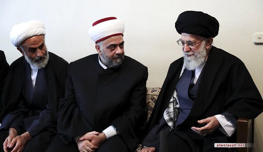 الإمام الخامنئي: سوريا اليوم في الخط الأول وواجبنا دعم صمودها