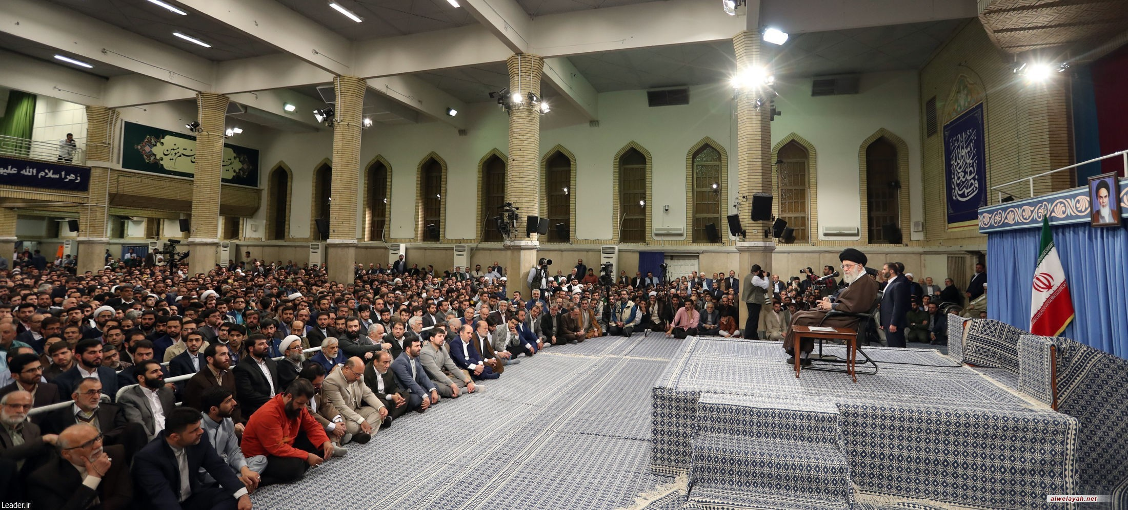 هكذا يرد قائد الثورة الإسلامية على كلام الغربيين حول تواجد إيران بالمنطقة..