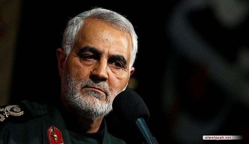 رسالة هامة من قائد فيلق القدس إلى الرئيس حسن روحاني