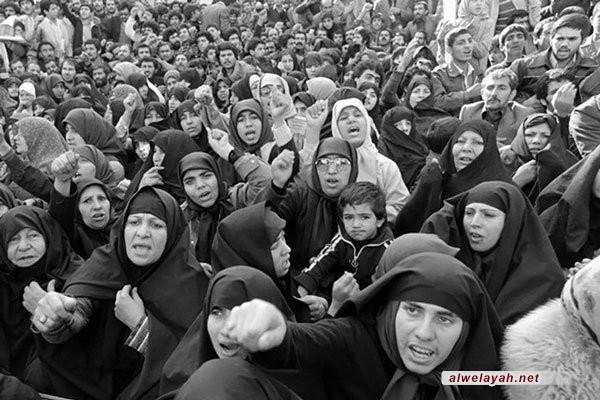 مكانة المرأة في ظل الثورة الإسلامية الإيرانيةالمرأة في ظل الثورة الإسلامية الإيرانية