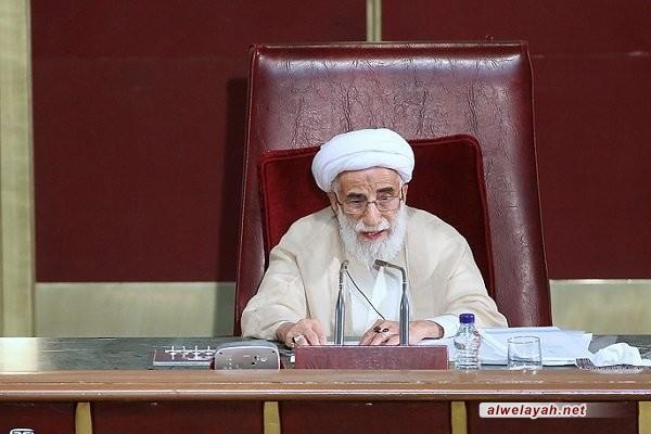 إعادة انتخاب آية الله جنتي رئيسا لمجلس خبراء القيادة