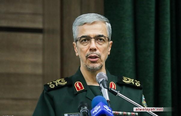 اللواء باقري: الجمهورية الإسلامية في أعلى جهوزيتها للرد على أي تهديد أو اعتداء