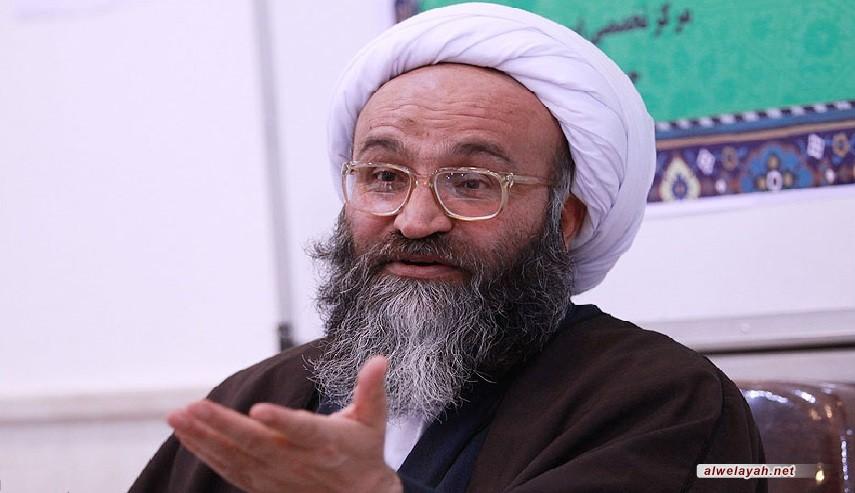 آية الله حيدري: الأعداء يحاولون تغيير ماهية الثورة الإسلامية أو القضاء عليها