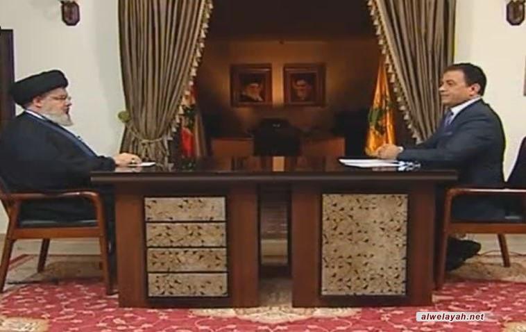 السيد نصر الله يكشف عن حقيقة ما يجري في إيران