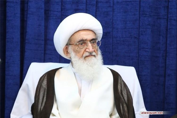 المرجع نوري الهمداني: على المسلمين أن يجهزوا أنفسهم لمواجهة الأعداء