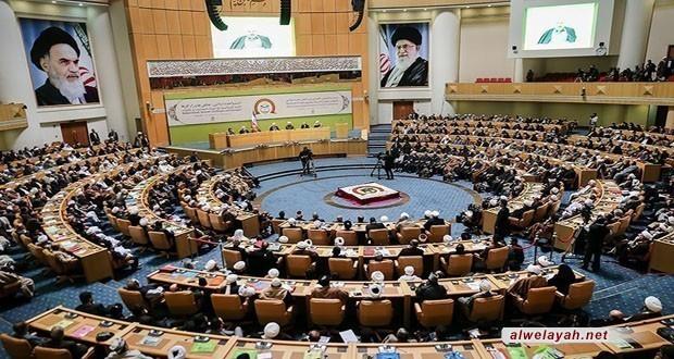 انطلاق المؤتمر الـ31 للوحدة الإسلامية بطهران