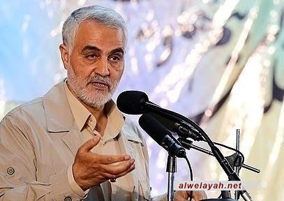 اللواء سليماني: الثورة الإسلامية الإيرانية لا تشبهها الثورات التي انطلقت في القرن العشرين